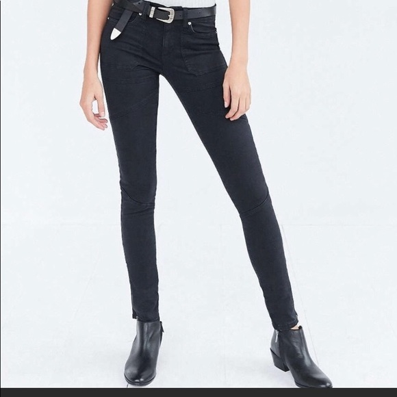 Urban Outfitters Denim - Urban outfitters BDG detailed skinny black jean
